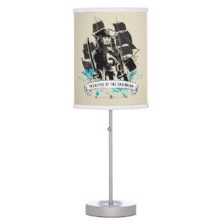 Jack Sparrow - Trickster of the Caribbean Desk Lamp