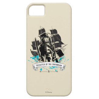 Jack Sparrow - Trickster of the Caribbean iPhone 5 Cases
