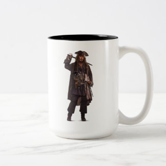 Jack Sparrow - Uncatchable Two-Tone Coffee Mug