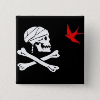 Jack Sparrow's Pirate Flag Button