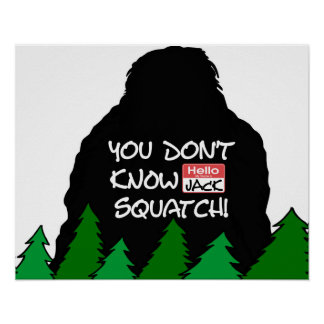 Jack Squatch Poster