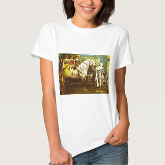 Jack the Clown and the Three Queens Vintage Circus Shirt