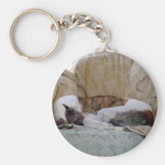 Jack the Greyhound Keychain