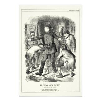 Jack the Ripper - Blind Man's Buff, 1888 Photo Print