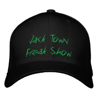 Jack Town Freak Show Hat Embroidered Baseball Caps
