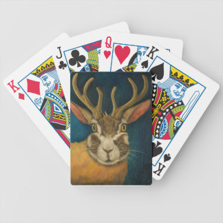 Jackalope Bicycle Playing Cards