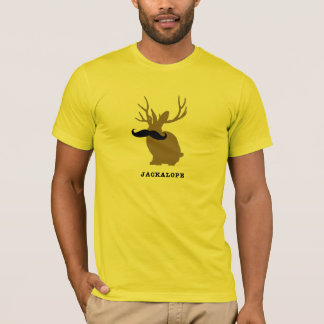 JACKALOPE MUSTACHE T-Shirt
