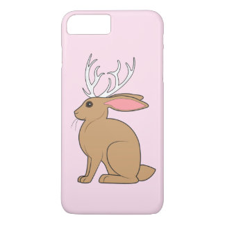 Jackalope: Rabbit with Antlers iPhone 7 Plus Case
