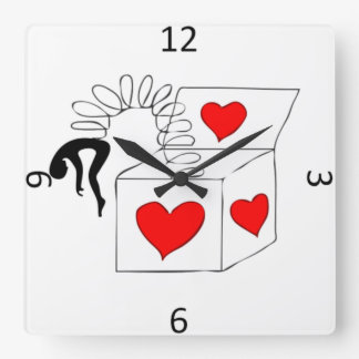 Jackbox Square Wall Clock