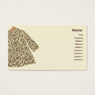 Jacket - Business Business Card