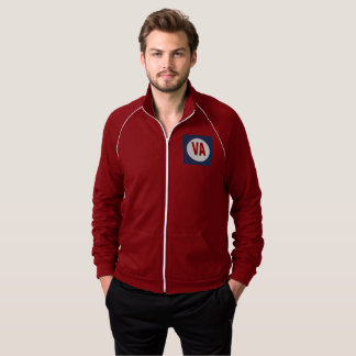 JACKET OF TRACK SUIT   DESIGN VIRGINIA THE USA