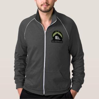 jacket round logo