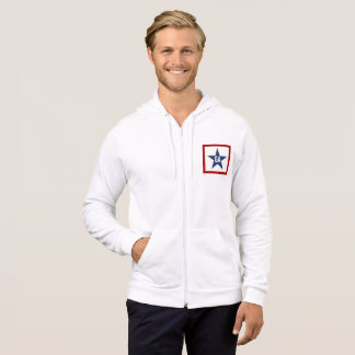 JACKET WITH WHITE HOOD   DESIGN GEORGIA THE USA