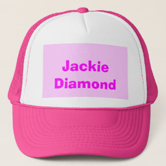 Jackie Diamond Trucker Hat