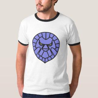 Jackie Karma Outlined Lion Ringer T T-Shirt