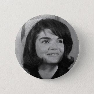 Jackie Kennedy 2 Inch Round Button