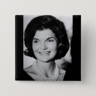 Jackie Kennedy 2 Inch Square Button