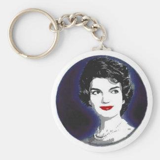 Jackie Kennedy keychain