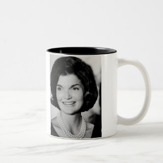 Jackie Kennedy Two-Tone Coffee Mug