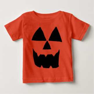 Jackolantern Face Baby T-Shirt
