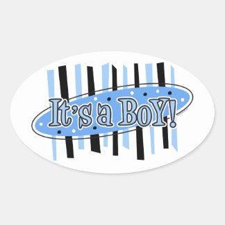Jackpot It's A Boy Sticker