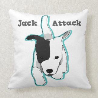 Jackpot Jack Russell Terrier Pillow