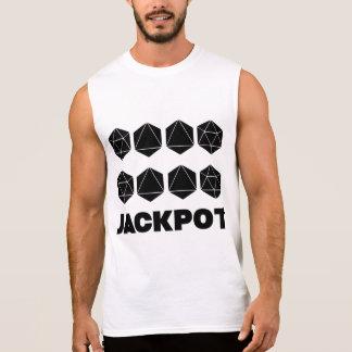 Jackpot Men's Sleeveless T-Shirt