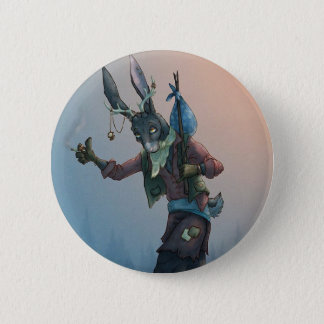 Jackrabbit Hitchhiker 2 Inch Round Button