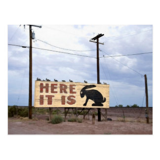 Jackrabbit Trading Post Route 66 Postcard