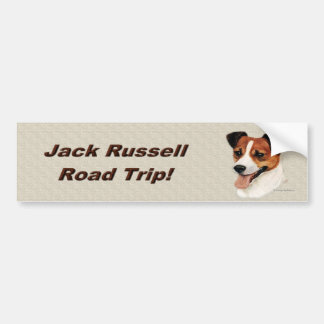 jackrussell2_bumpersticker bumper sticker
