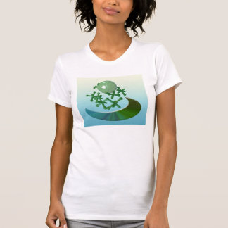 Jacks and Ball Vintage Toy Game T-shirt Green