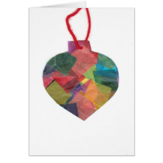 Jack's Colourful Ornament Greeting Card