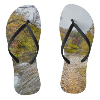 Jacks Fork Autumn Flip Flops