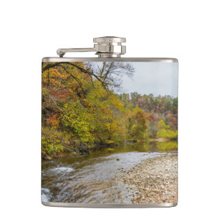 Jacks Fork Autumn Hip Flask