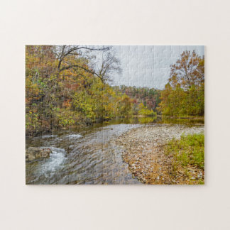 Jacks Fork Autumn Jigsaw Puzzle