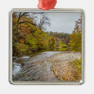 Jacks Fork Autumn Metal Ornament