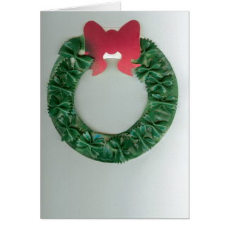 Jack's Holiday Wreath Greeting Card