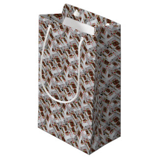Jacks In A Layered Pattern,_ Small Gift Bag