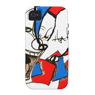 Jacks in the Box (Clown Sketch) iPhone 4 Cover