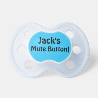 Jack's Mute Button! Pacifier