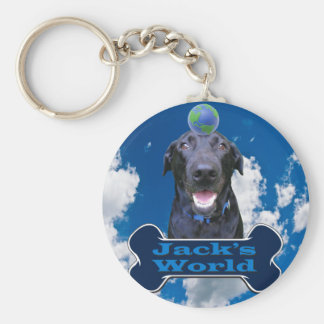 Jack's World Keychain