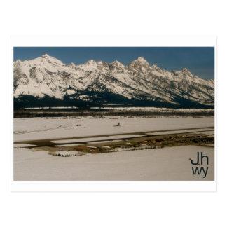 Jackson Hole Airport Postcard