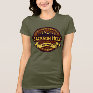Jackson Hole Color Logo Vibrant T-Shirt