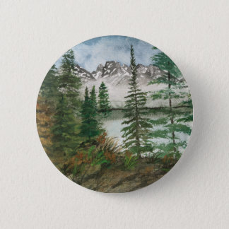 Jackson Hole Jenny Lake 2 Inch Round Button