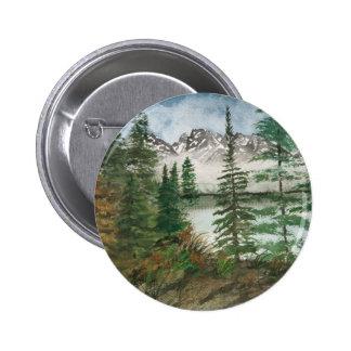 Jackson Hole Jenny Lake 2 Inch Round Button