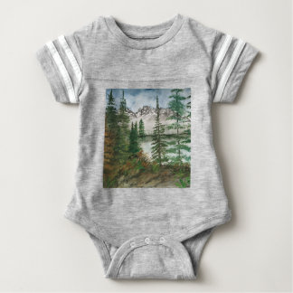 Jackson Hole Jenny Lake Baby Bodysuit