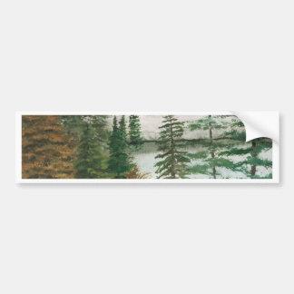 Jackson Hole Jenny Lake Bumper Sticker