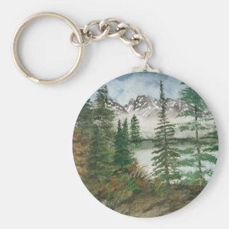 Jackson Hole Jenny Lake Keychain