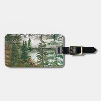 Jackson Hole Jenny Lake Luggage Tag