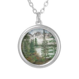 Jackson Hole Jenny Lake Silver Plated Necklace